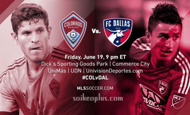 Colorado Rapids vs Dallas